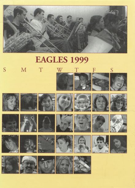 1999 Silver Lake High School Yearbook Cover