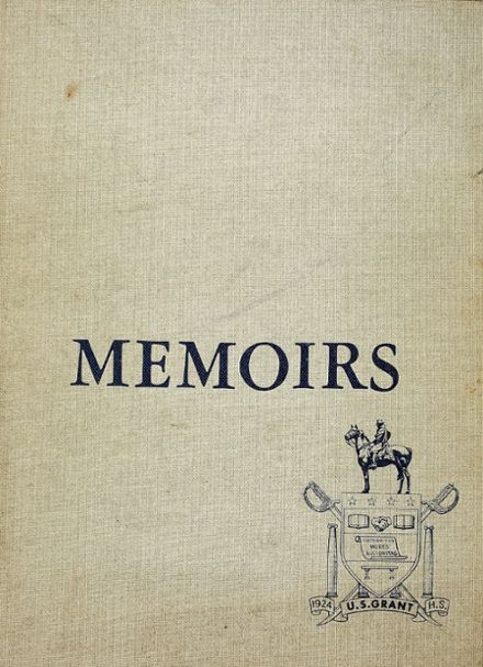 1967 Grant High School Yearbook Cover