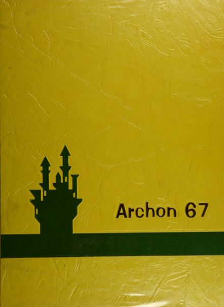 1967 Stagg High School Yearbook Cover