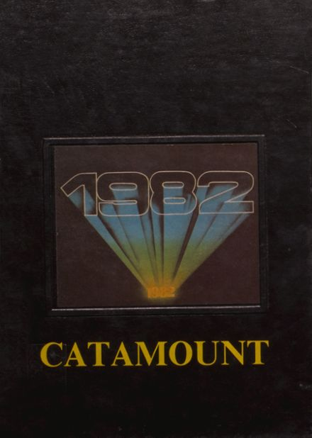 1982 Greenfield-Central High School Yearbook Cover