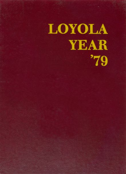 1979 Loyola Academy Yearbook Cover