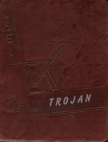 1951 Litchfield High School Yearbook Cover