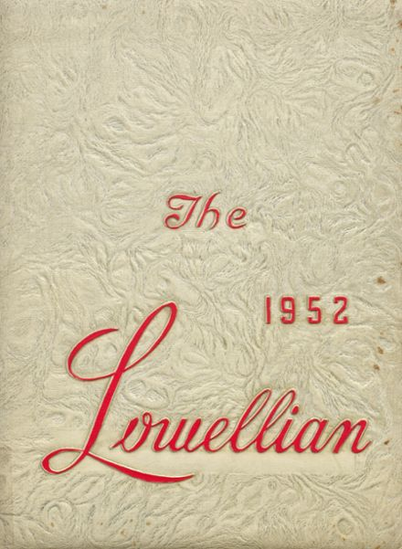 1952 Lowell High School Yearbook Page 1