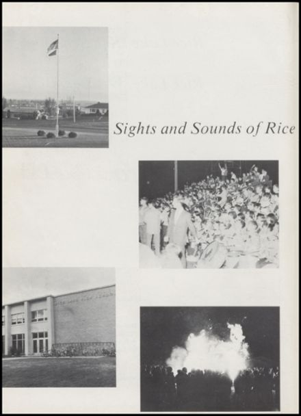 1970 Rice Lake High School Yearbook Page 6