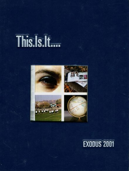 2001 West Bloomfield High School Yearbook Cover