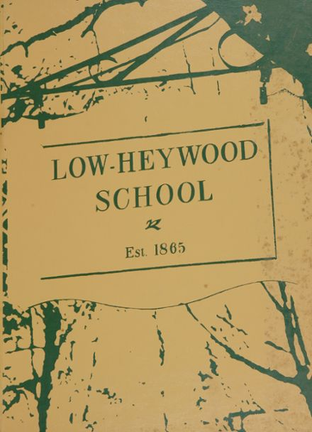 1974 King/Low-Heywood Thomas High School Yearbook Cover