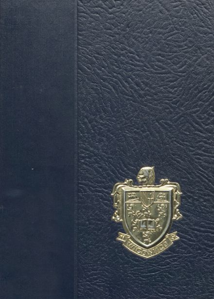 1969 Wicomico High School Yearbook Cover