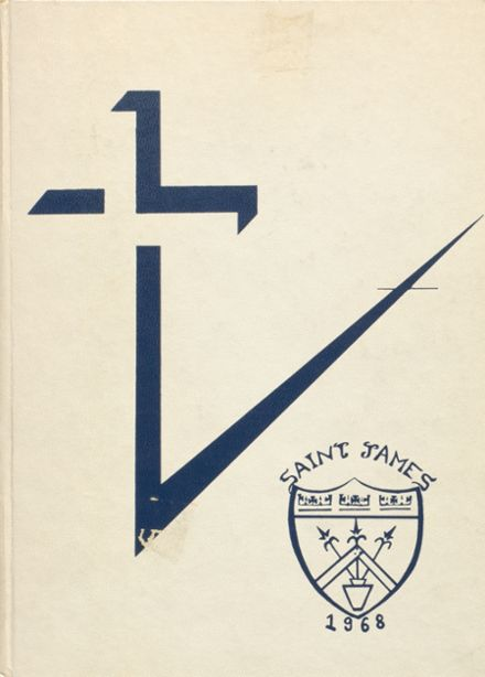 1968 St. James High School Yearbook Cover