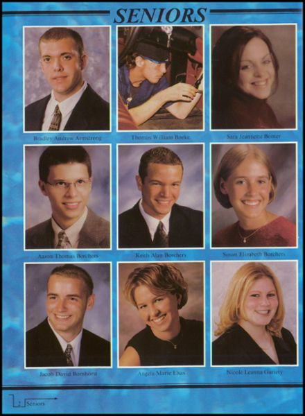2001 Russia Local High School Yearbook Page 6