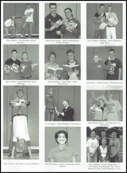 2001 Russia Local High School Yearbook Page 9