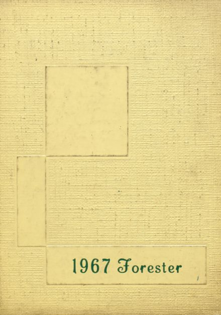 1967 Forest Hills High School Yearbook Cover