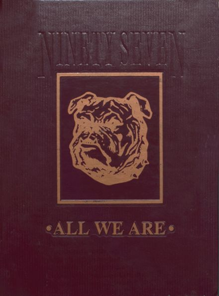 1997 Ottumwa High School Yearbook Cover