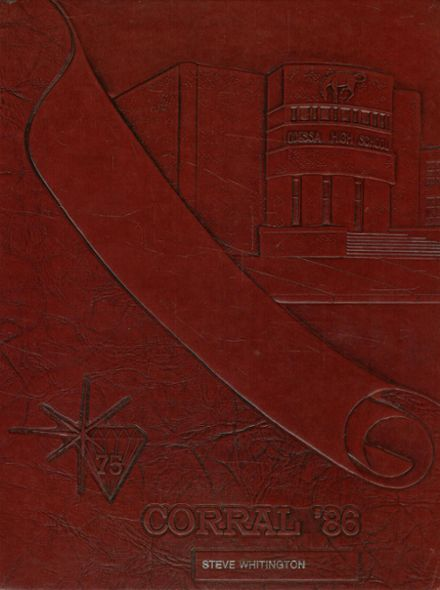 1986 Odessa High School Yearbook Cover