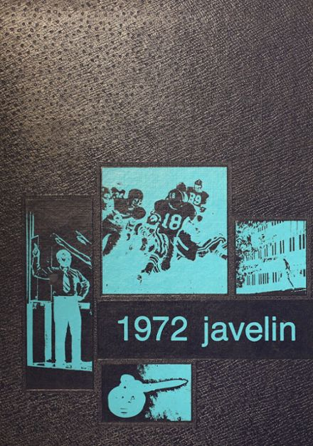 1972 Atlantic High School Yearbook Cover