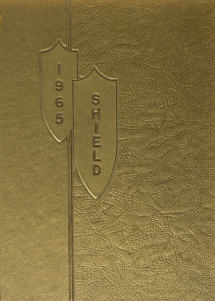 1965 St. Anthony's High School Yearbook Cover