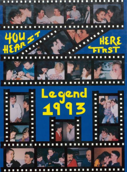 1993 East Noble High School Yearbook Cover