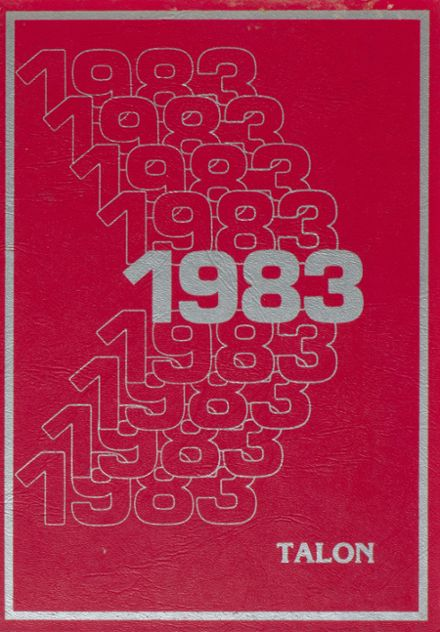1983 Jefferson Area High School Yearbook Cover