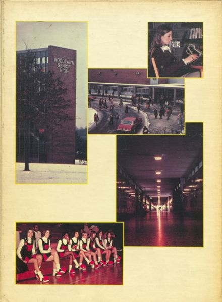 1977 Woodlawn High School Yearbook Cover