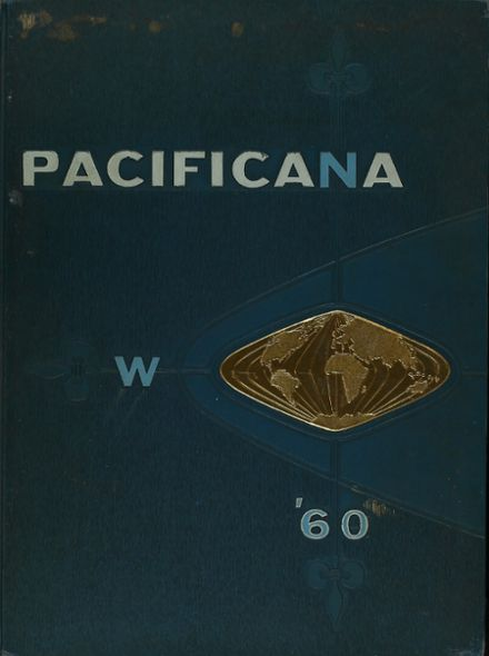 1960 Pacific High School Yearbook Cover