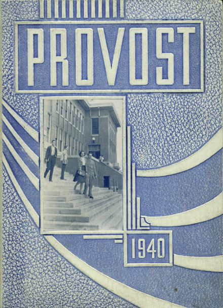 1940 Provo High School Yearbook Cover