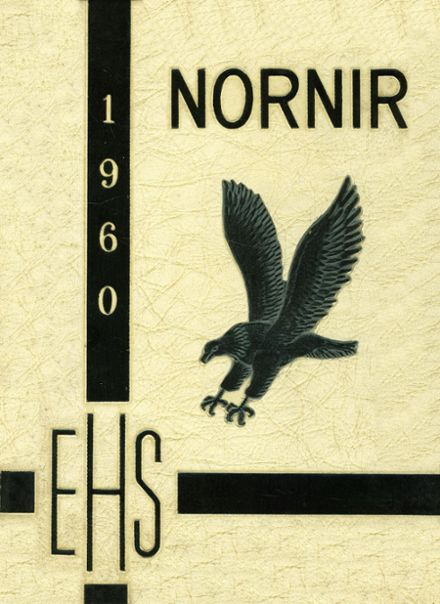 1960 Eichelberger High School Yearbook Cover