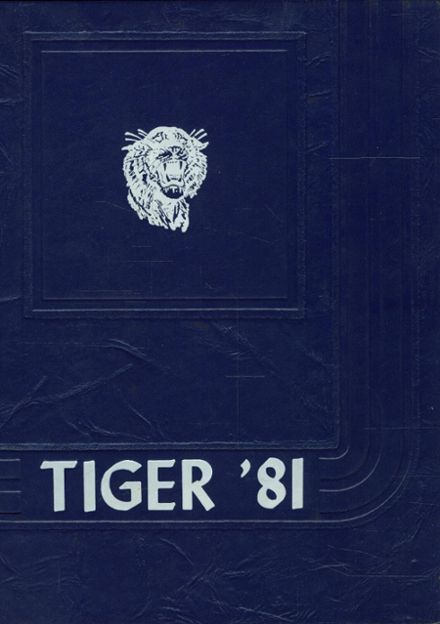 1981 Central High School Yearbook Cover
