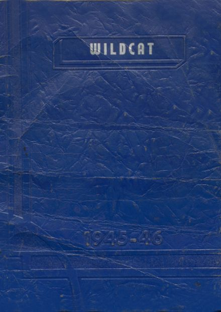 1946 Welch High School Yearbook Cover