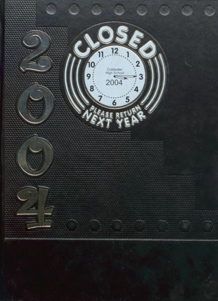 2004 Coldwater High School Yearbook Cover