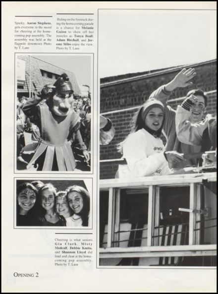 1996 Bixby High School Yearbook Page 6