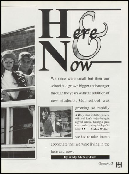 1996 Bixby High School Yearbook Page 7