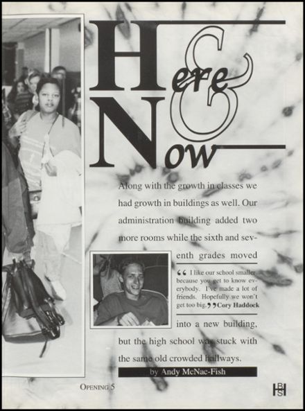 1996 Bixby High School Yearbook Page 9