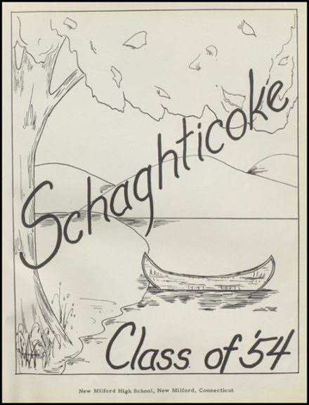 1954 New Milford High School Yearbook Page 5
