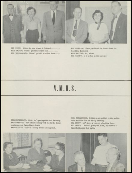 1954 New Milford High School Yearbook Page 8