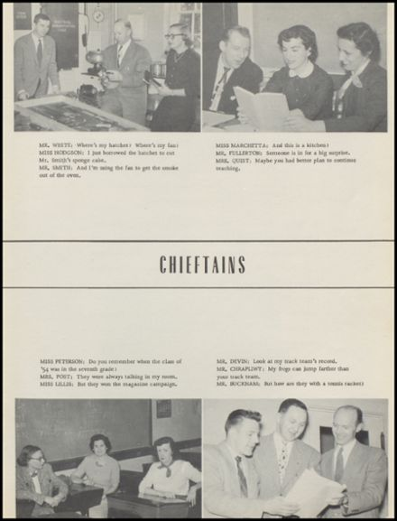1954 New Milford High School Yearbook Page 9