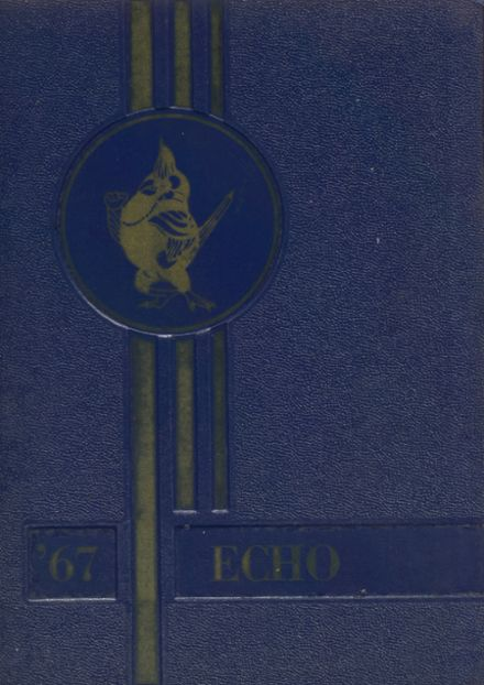 1967 Bangor High School Yearbook Cover