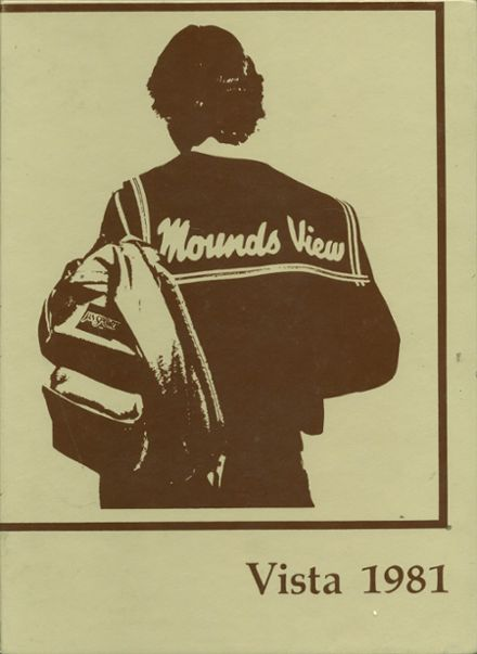 1981 Mounds View High School Yearbook Cover