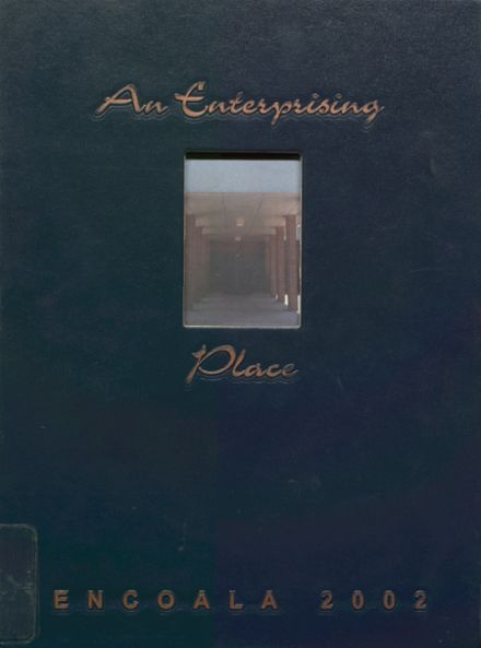 2002 Enterprise High School Yearbook Cover