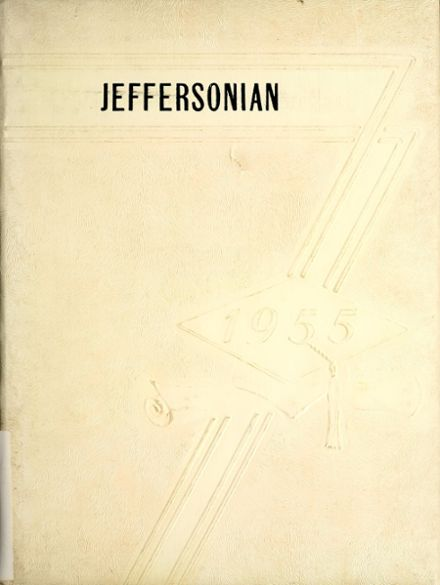 1955 Gray High School Yearbook Cover