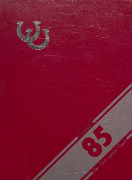 1985 Odessa High School Yearbook Cover