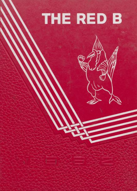 1962 Brodhead High School Yearbook Cover