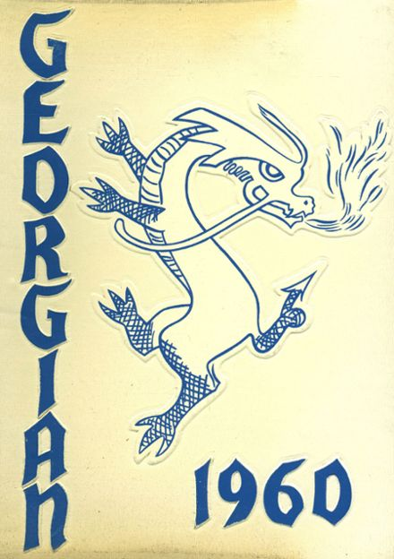 1960 St. George High School Yearbook Cover