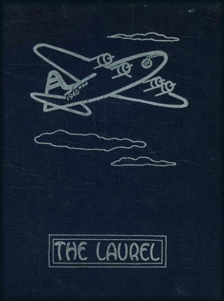 1945 Laurelwood Academy Yearbook Cover