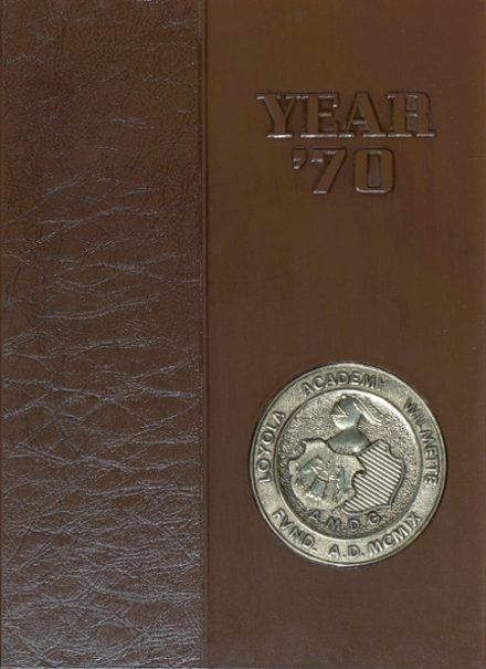 1970 Loyola Academy Yearbook Cover