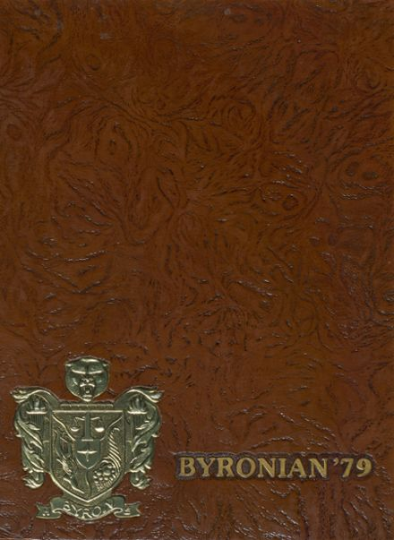 1979 Byron High School Yearbook Cover