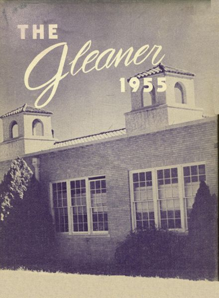 1955 Roscoe High School Yearbook Cover