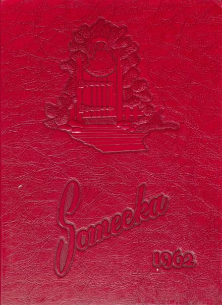 1962 South Mecklenburg High School Yearbook Cover