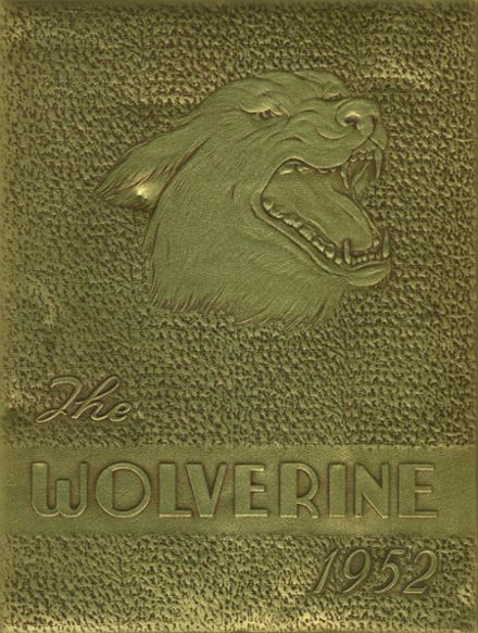 1952 Holdenville High School Yearbook Cover