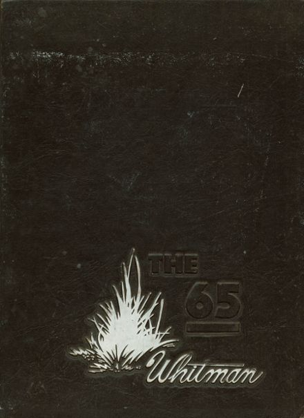1965 Whitman High School Yearbook Cover
