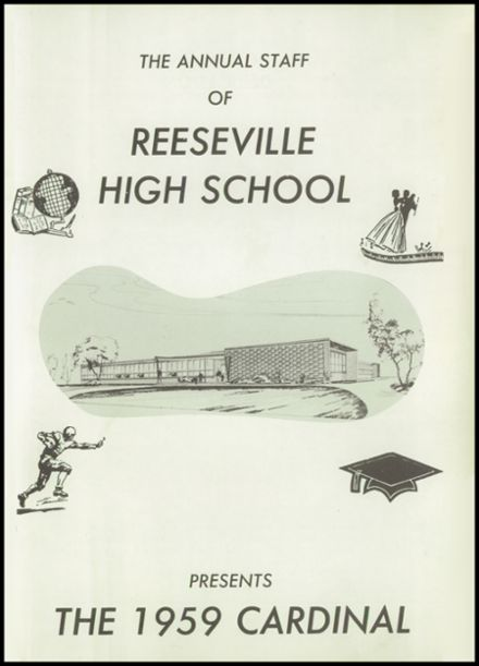 1959 Reeseville High School Yearbook Page 5