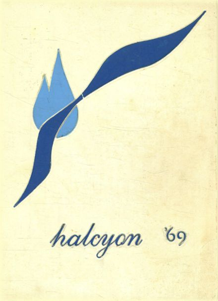 1969 Immaculate Heart Academy Yearbook Cover
